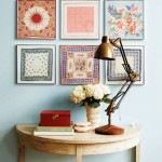handkerchief-wall-art