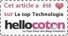 Elu TOP-TECHNOLOGIE sur Hellocoton