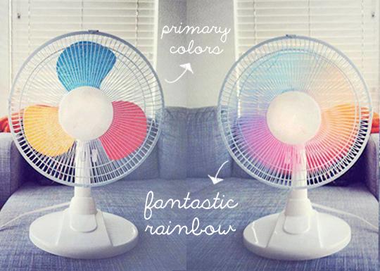 rainbow-fan